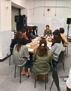 自社サロンで婚活セミナーを開催しています。福岡の結婚相談所マゼンダ