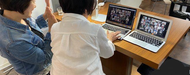 白駒 妃登美ゲストZOOMで新サロンお披露目パーティーレポート|福岡の結婚相談所マゼンダ