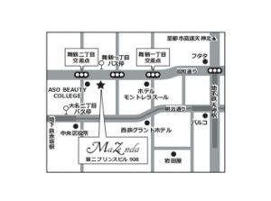 福岡大名の婚活パーティー会場(マゼンダサロン)の周辺地図